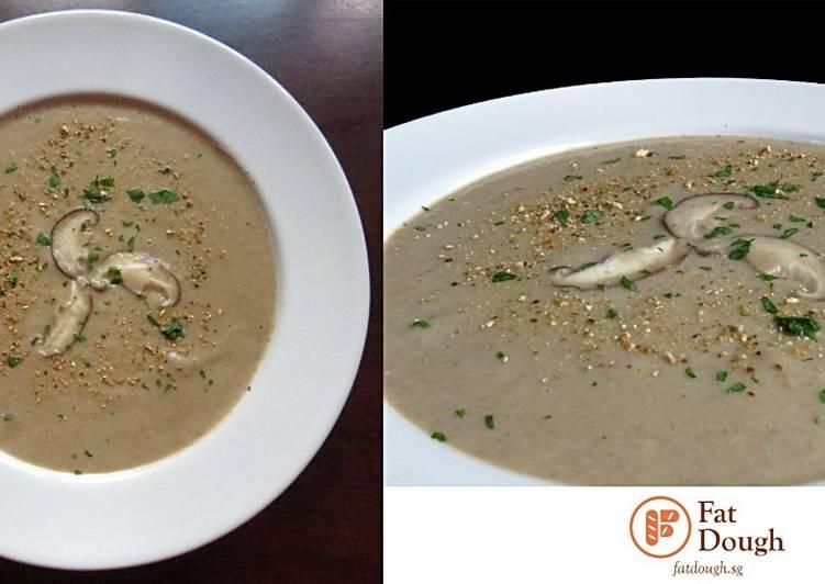 Easiest Way to Make Appetizing Mushroom Soup