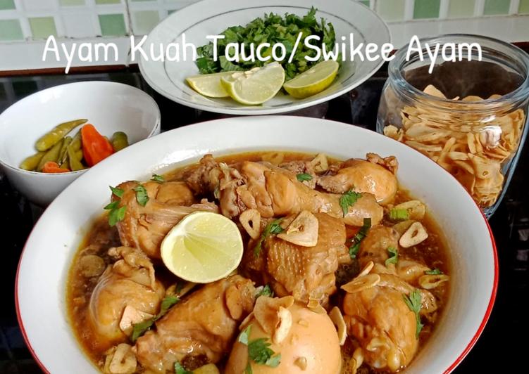 Resep Ayam Kuah Tauco Swikee Ayam Gampang