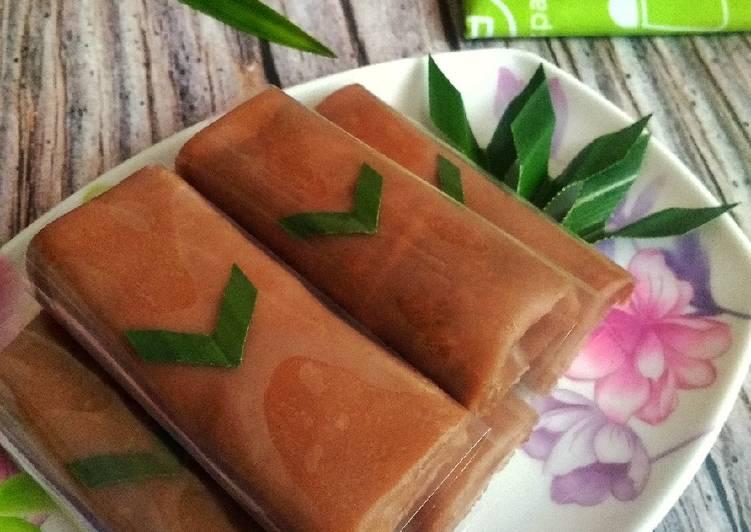 Cara Memasak Dadar Gulung Coklat Unti Kelapa simpel
