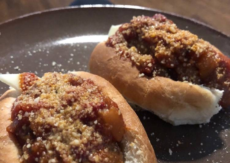 Recipe: Delicious Slow cooker italian sausage sandwiches