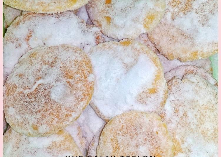 Kue Salju Teflon Bejek-bejek 3 Bahan (No Oven No Mixer)
