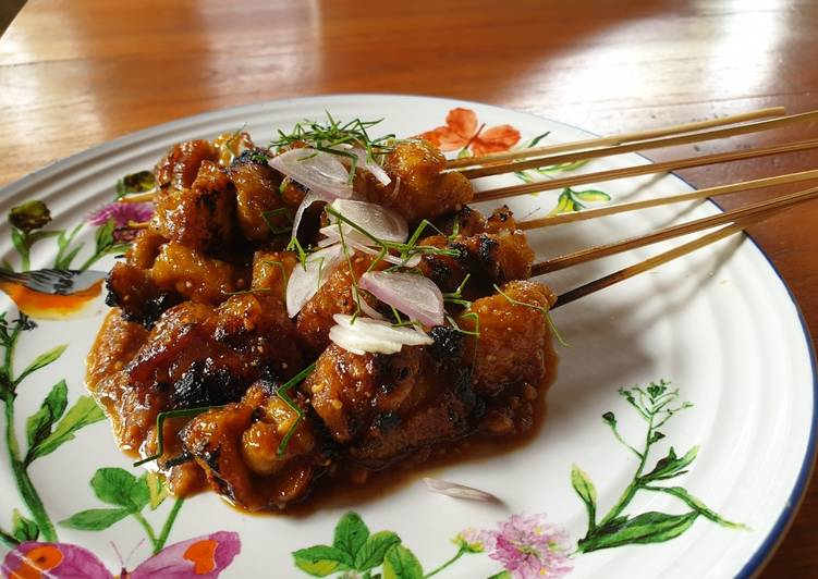 Recipe: Perfect Vegetarian satay
