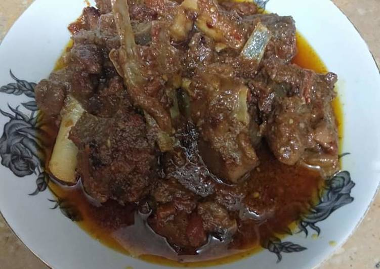 Recipe of Speedy Mutton karhai