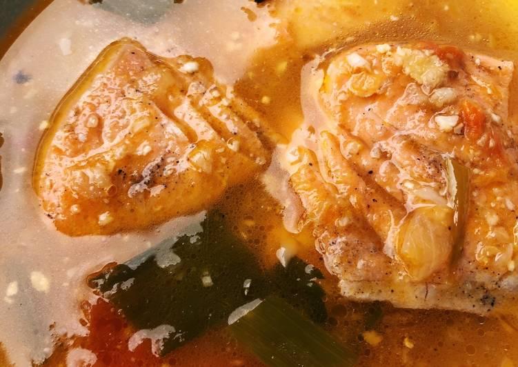 Soup Salmon Asam Pedas