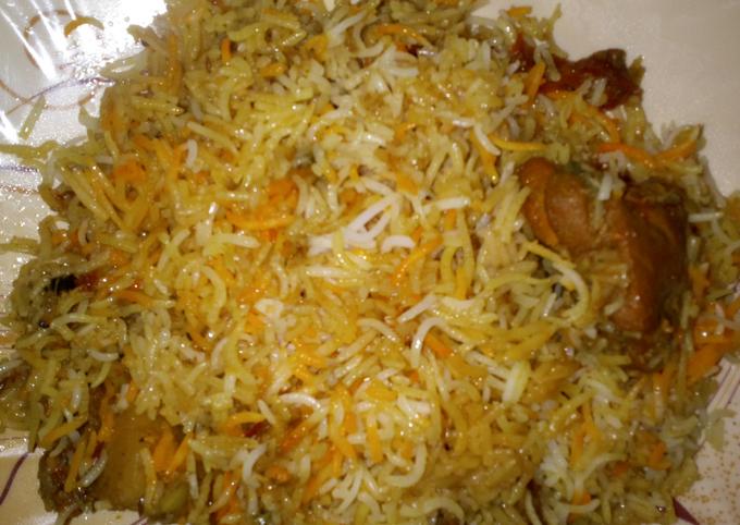 Chicken Biryani #Kokab&Cookpad