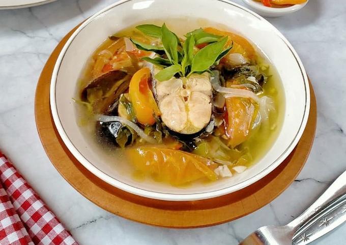 Sup asam segar ikan patin