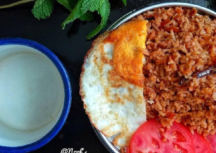 Resep Nasi Goreng sambal Teri Paling Mudah
