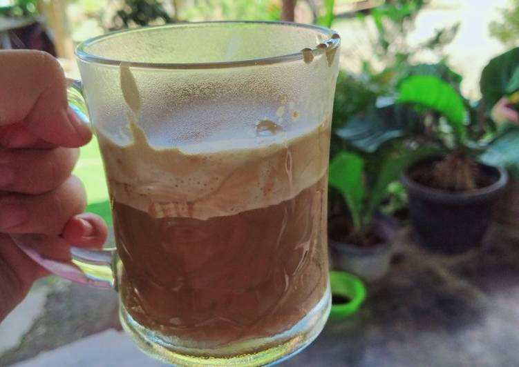 Bagaimana Memasak Resep Sempurna Dari Dalgona Coffe Enak👍