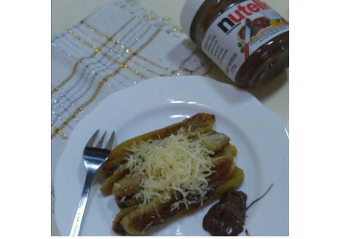 Pisang Bakar Margarin