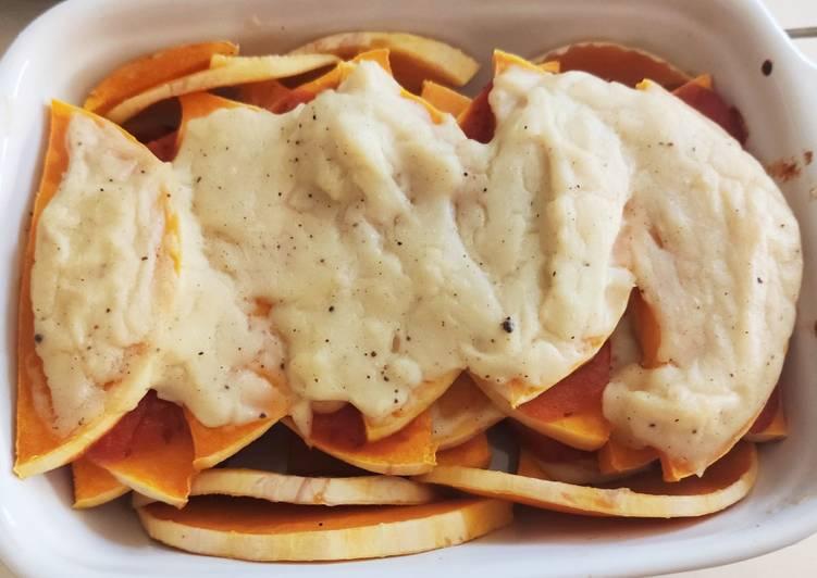 Comment faire Cuire Délicieux 🌸 Lasagnes de butternut, vegane