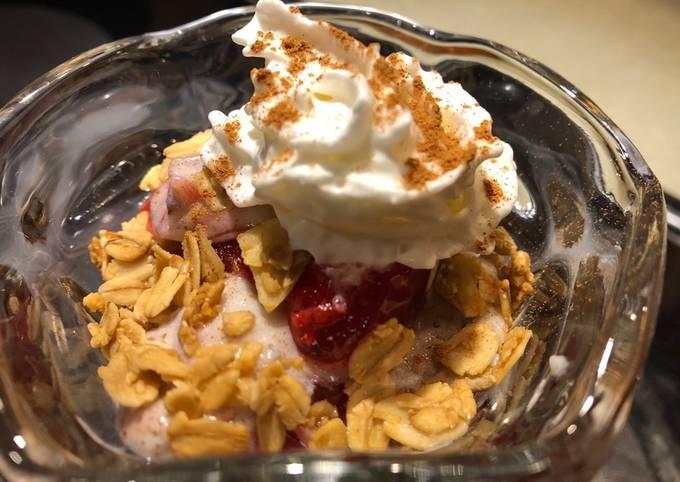 Oreo ~ Cherry 🍒 Granola Dessert 🍨