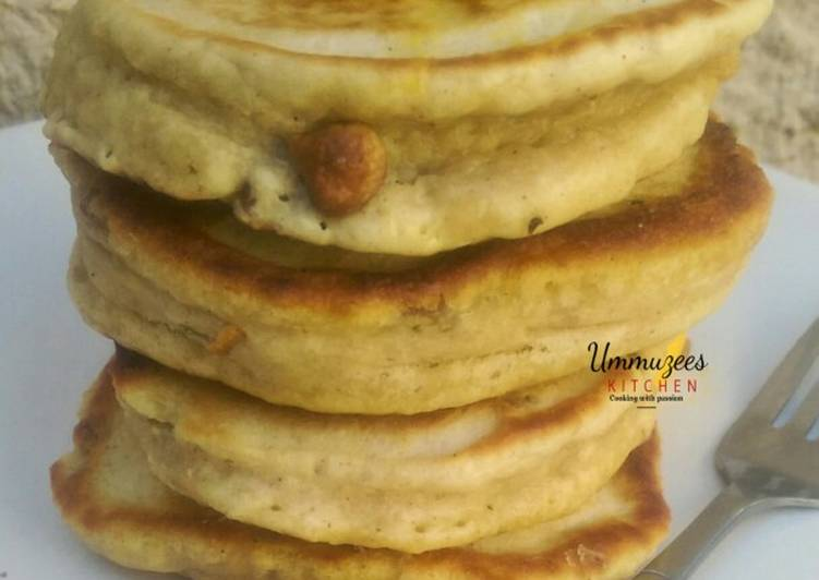 Cinnamon and Raisin Pancake