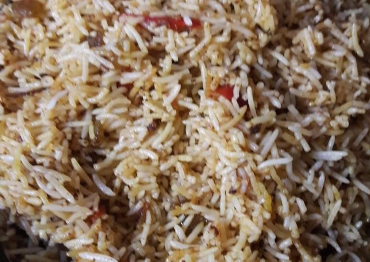 Nasi Biryani bumbu instan gampang dan cepat