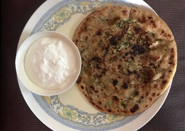 Simple Way to Prepare Favorite Cauliflower paratha
