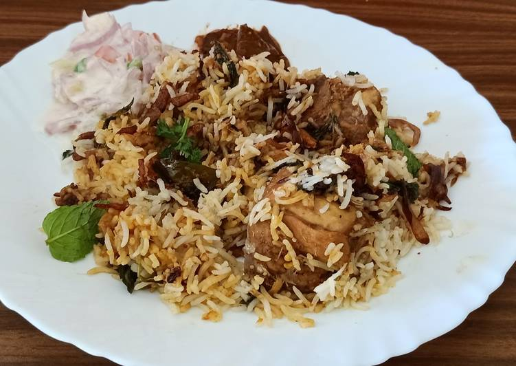 Easiest Way to Make Homemade Kerala style chicken biriyani