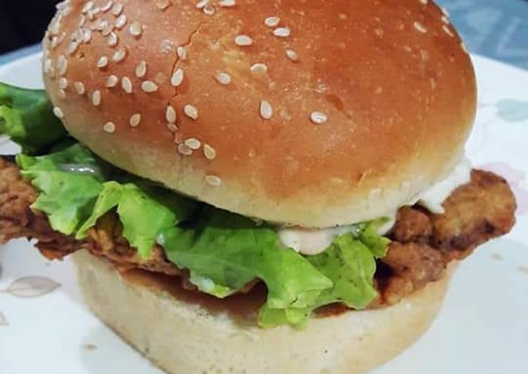 Recipe of Favorite Zinger burger
