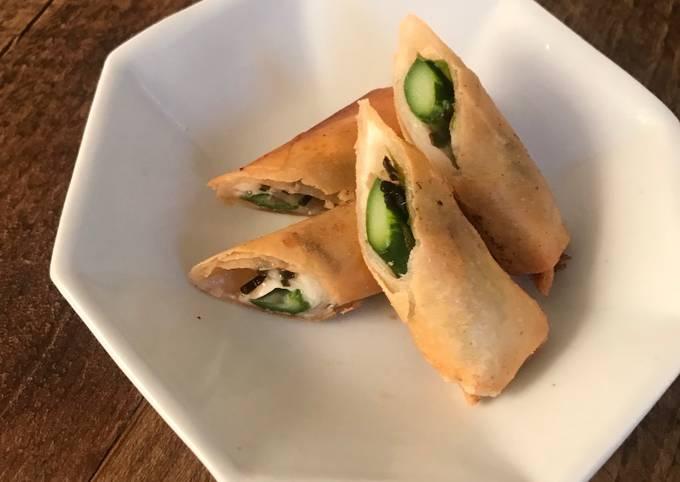 Asparagus Spring Roll (V)