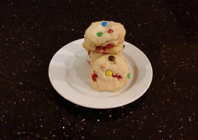 Recipe of Quick Cherry Chip Shortbread Cookies