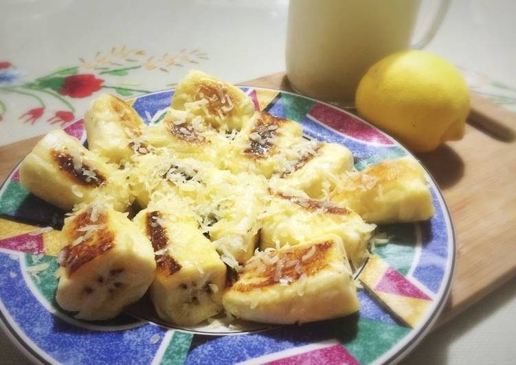 Resep Pisang goreng mentega rendah kalori Bikin Ngiler