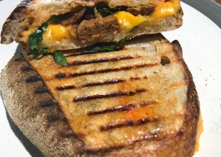 Easiest Way to Make Award-winning Ultimate vegan grill cheese