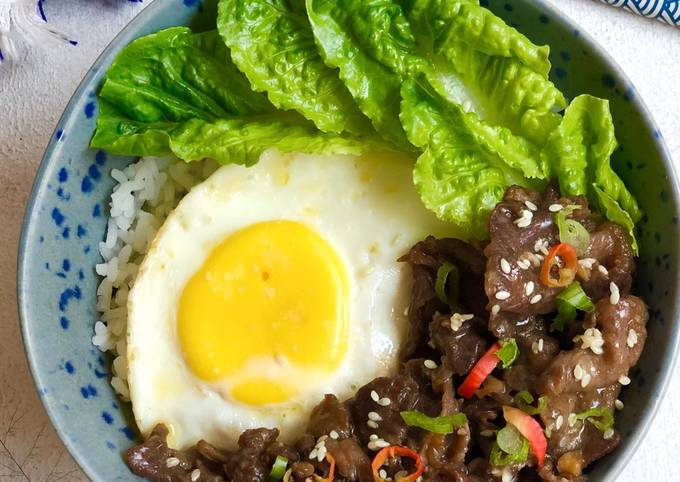 Beef Rice Bowl simple - projectfootsteps.org