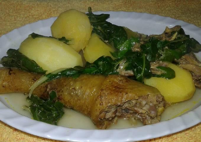 Kienyeji chicken tumbukiza