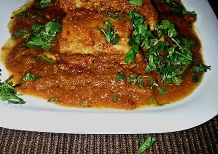 Lucknow style chicken