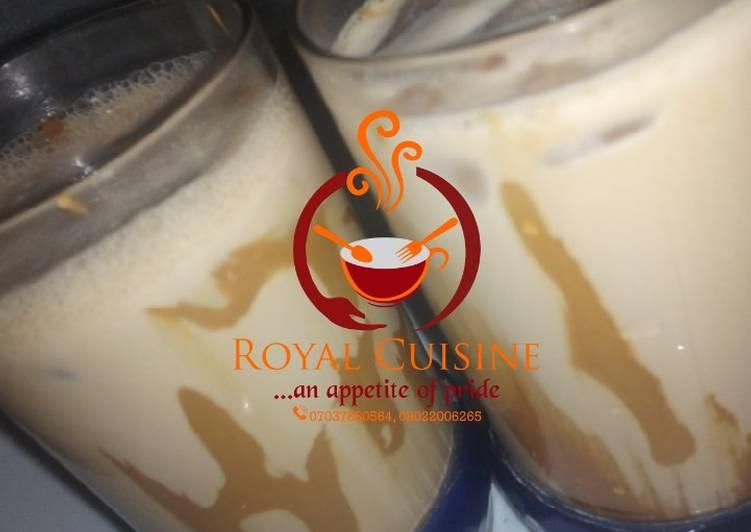 Recipe of Award-winning Cold coffee drink