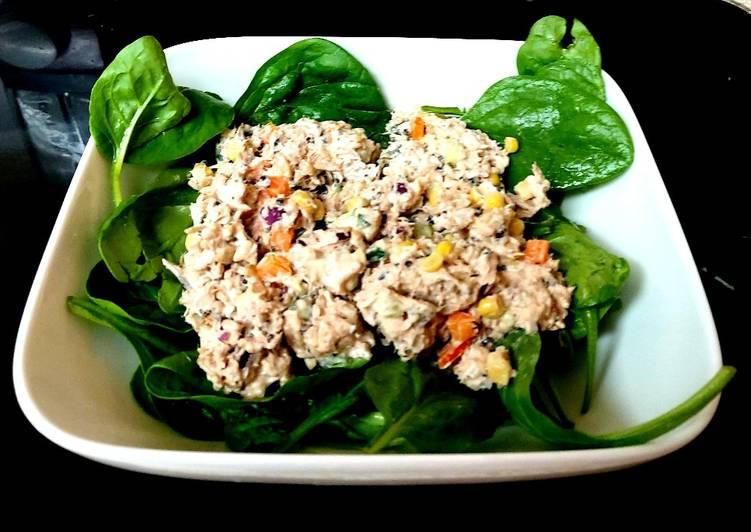My Tuna, Cucumber & Wholegrain Rice 😘