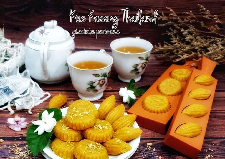 Resep Thong Ek – Kue Kacang Thailand, Lezat