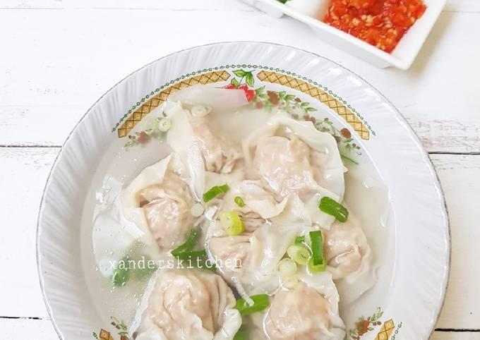 Resep Pangsit Kuah Oleh Xander S Kitchen Cookpad