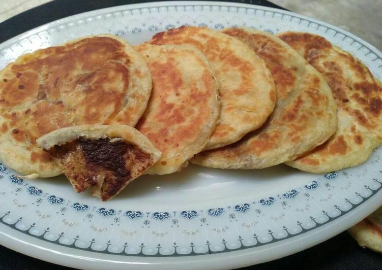 Resep Hotteok #Korean Sweet Pancake Terbaik