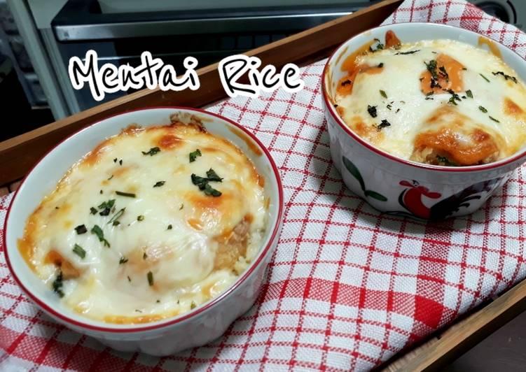 Mentai Rice/Nasi Menthai