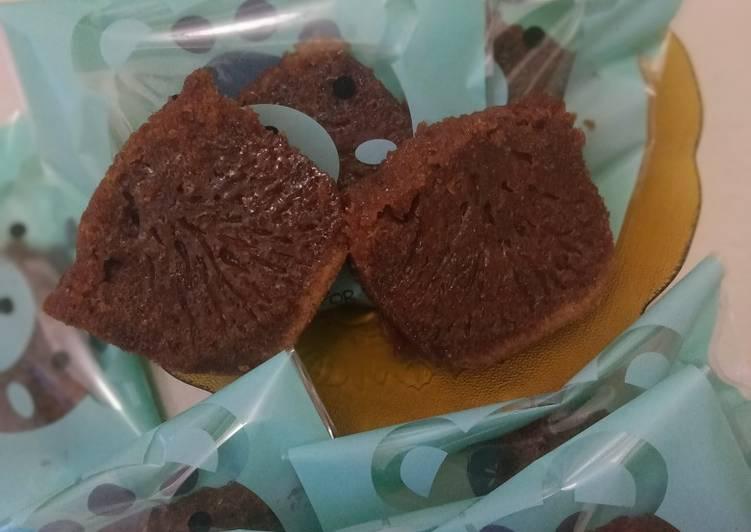 cara bikin Bolu karamel / cake sarang semut - Sajian Dapur Bunda