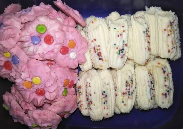 Cookies Semprit Maizena Susu