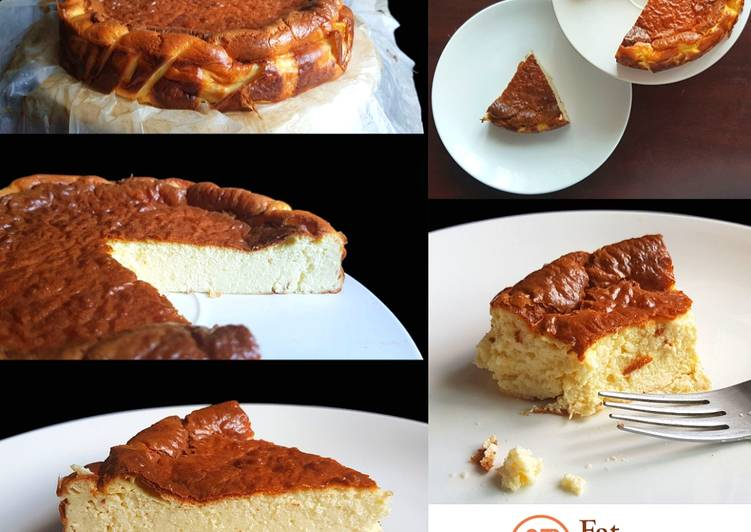 Recipe: Tasty Basque Burnt Cheesecake