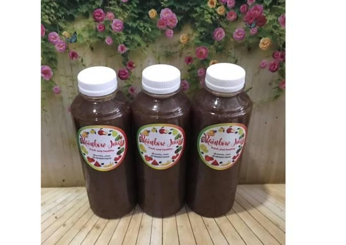 Diet Juice Blackberry Blueberry Soursop Mango Pokchoy