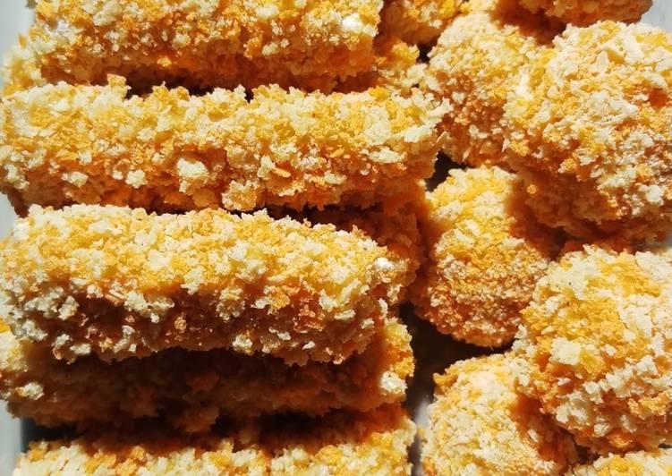 Resep Pisang Nugget homemade (simple dan enak), Bisa Manjain…
