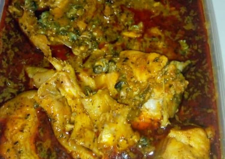 Easy Comfort Dinner Easy Homemade Banga soup and fresh fish