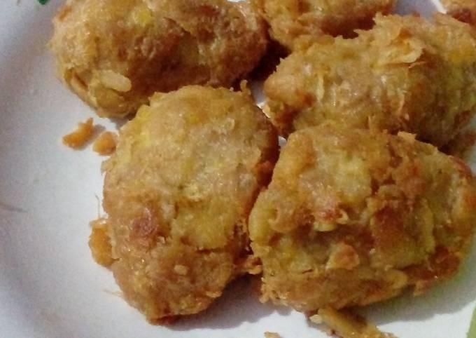 Dip fried spicy tempeh (Javanese-Indonesia style tempeh) #Asia food