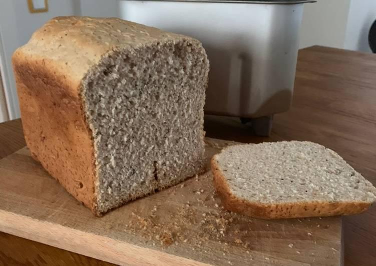 Pan de harina de trigo y espelta con panificadora Lidl