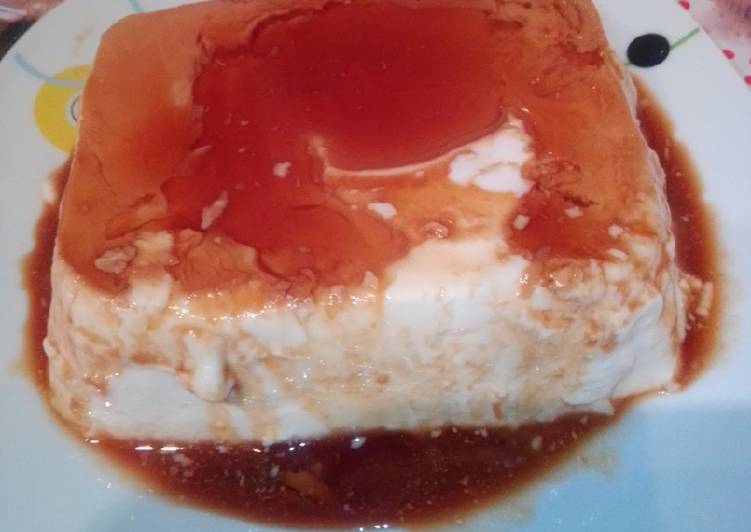 Flan de queso crema light en MC