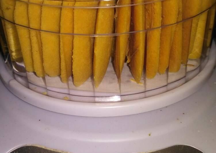 Resep Lidah kucing (katetong) tabur keju Anti Gagal