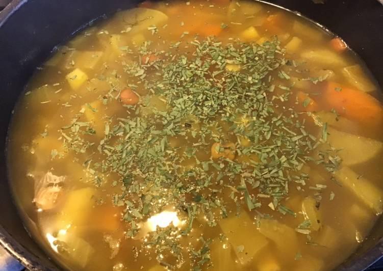 Recette Appétissante Soupe fenouil pommes de terre patate douce et panais
