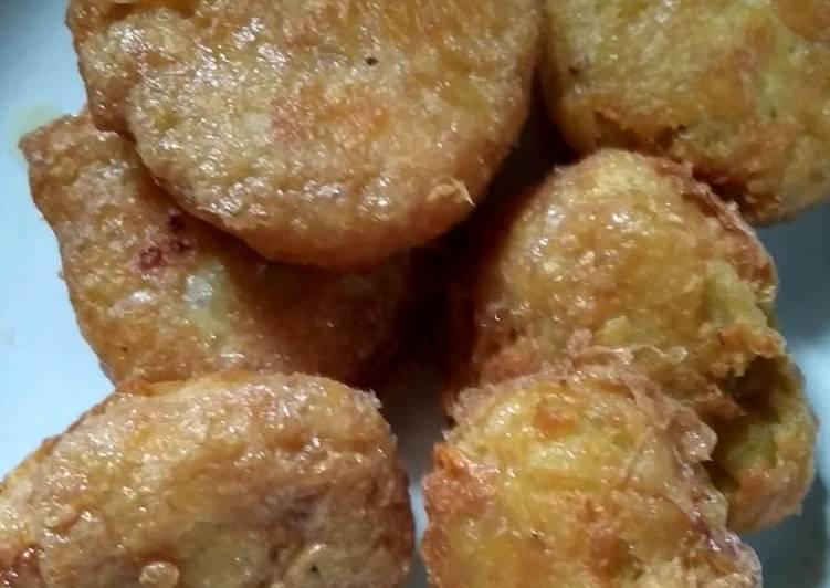 Perkedel kentang praktis