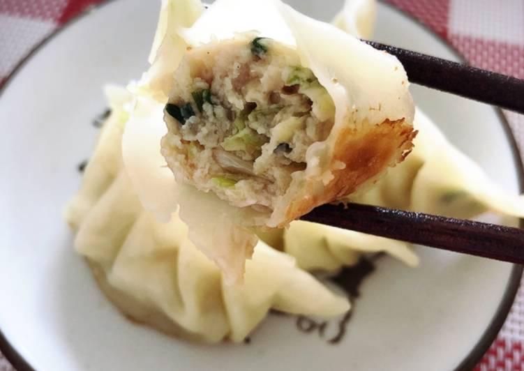 Gyoza Ayam (Resep asli dari Jepang)