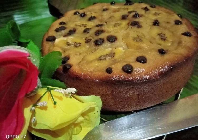 Bolu Pisang Teflon 2 Telur - cookandrecipe.com