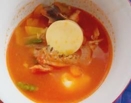Sop Merah (sop tomat)