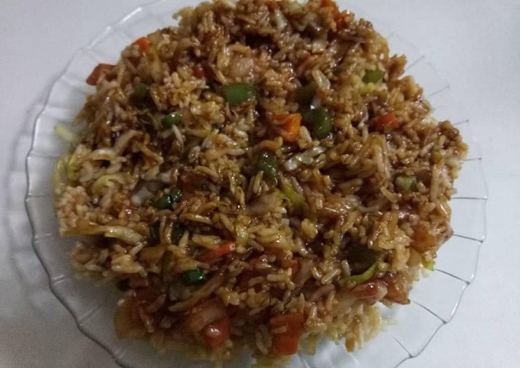 Recipe of Award-winning Chinese fried rice