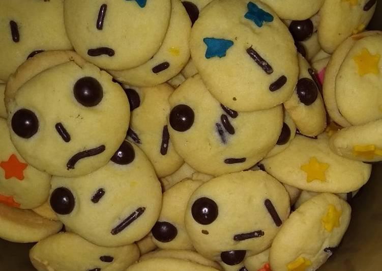 Cara Gampang Membuat Cookies karakter yang Bikin Ngiler